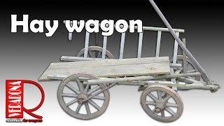 Hey wagon restoration. Oprava starého žebřiňáku