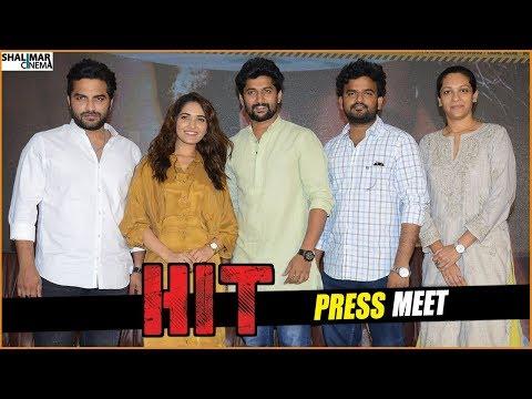 HIT Movie Team Press Meet   Vishwak Sen, Ruhani Sharma, Nani    Shalimarcinema