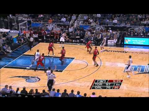 Raptors vs Magic | Landry Fields Highlights (12-29-2012)