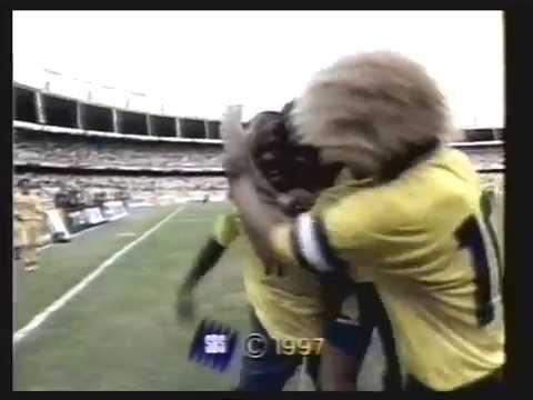 Faustino Asprilla - Best Goals Parma, Newcastle & Colombia