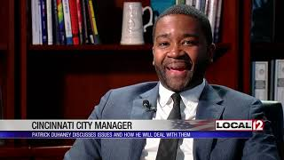 New Cincinnati city manager discusses issues, plans to deal with them