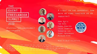 A light in the darkness   The Event Freelancer Summit 2020