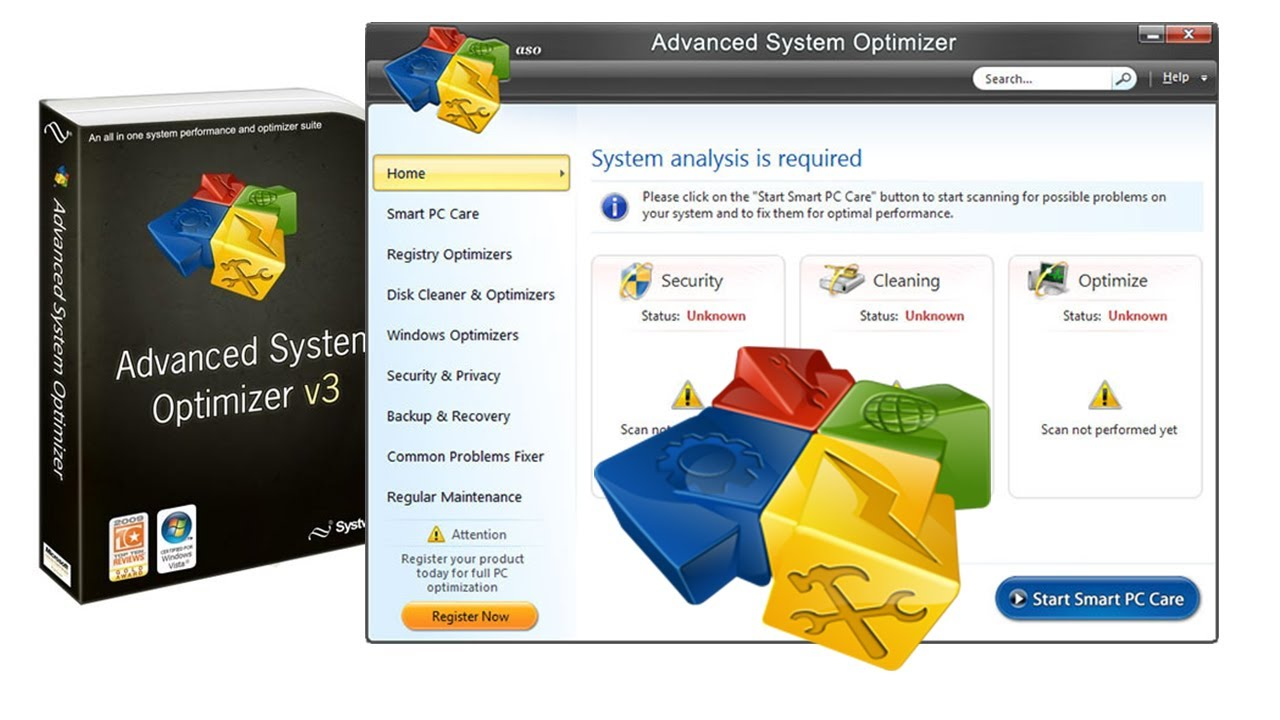 advanced system optimizer key