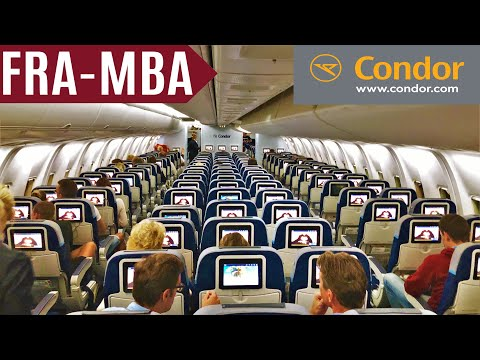 CONDOR TRIPREPORT | FRANKFURT - MOMBASA via KILIMANJARO | BOEING 767-300ER | ECONOMY | FullHD