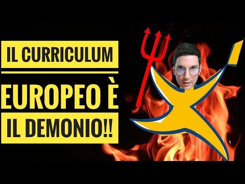 Il CV europeo è il demonio: guida ad un Curriculum efficace [2019]