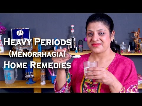 Heavy Periods Home Remedies - How To Stop Heavy Periods @ ekunji.com by Sonia Goyal