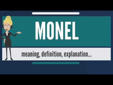 What is MONEL? What does MONEL mean? MONEL meaning, definition & explanation