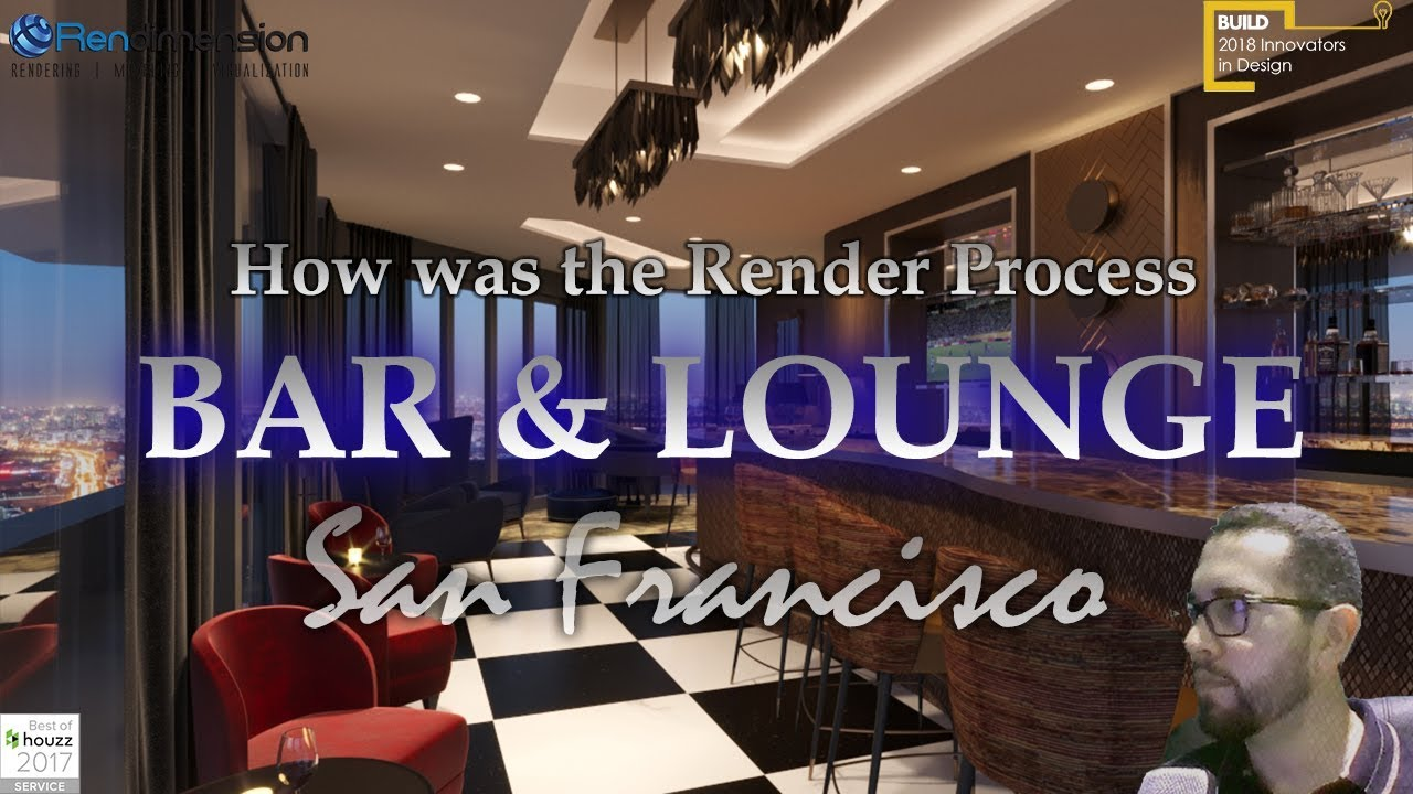 ✅3D Rendering Services San Francisco - Restaurant- Architectural Renderings Real Estate California✅