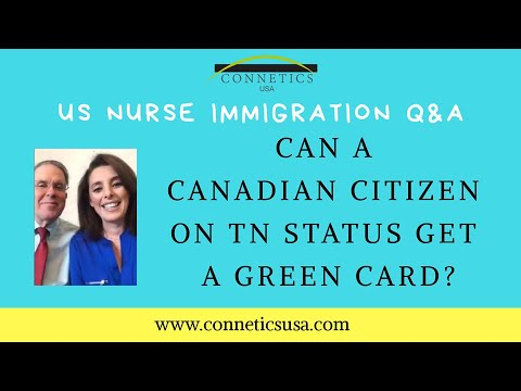 Can A Canadian Citizen On TN Status Get A Green Card?