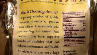 blazerfarmz Fresh Frozen Aronia Berries - Fresh Chokeberries