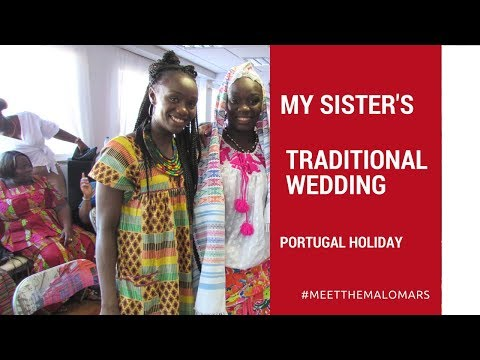 VLOG - ISSA WIFE - MY SISTER'S TRADITIONAL WEDDING -GUINEA-BISSAU (part 1)