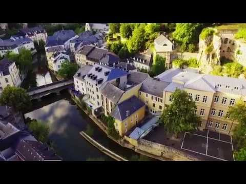 Luxembourg from the sky - DJI Phantom 3 drone video