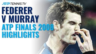 Roger Federer vs Andy Murray Dramatic Match: ATP Finals 2008 Tennis Highlights!