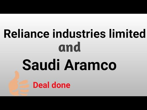 reliance and aramco deal done | big news in ril industries | ril 42 amg