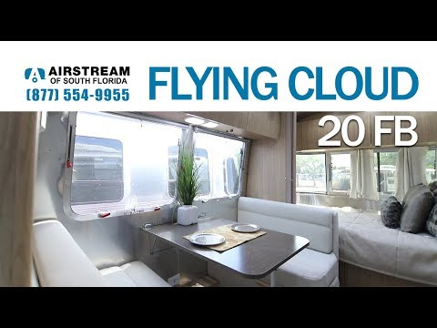 2019 Airstream Flying Cloud 20 FB Travel Trailer - YouTube