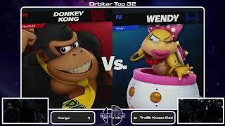 WeS | Konga (Donkey Kong) vs Tra$h Koopa God (Wendy) - Orbitar 63 - Top 32