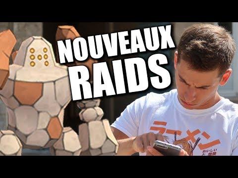 ENFIN LES RAIDS REGIROCK (ET LA 4G !) - POKÉMON GO