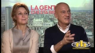 Claudio Bisio e Margherita Buy, intervista, La gente che sta bene, RB Casting
