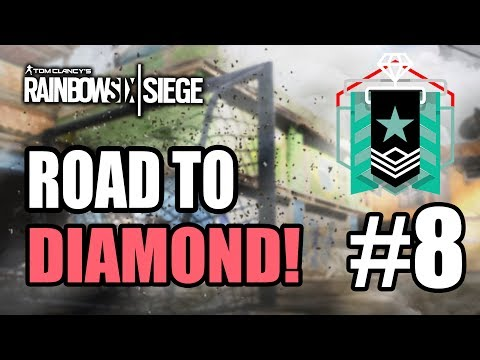 RAINBOW SIX SIEGE | ROAD TO DIAMOND! #8 ¡OTRA VEZ NO! - GAMEPLAY ESPAÑOL | DRID