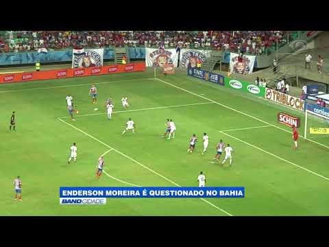 Enderson Moreira é questionado no Bahia