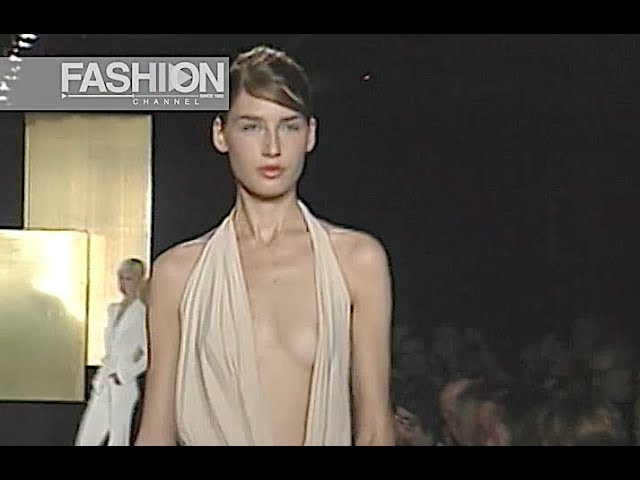 DONNA KARAN Spring Summer 2003 New York - Fashion Channel