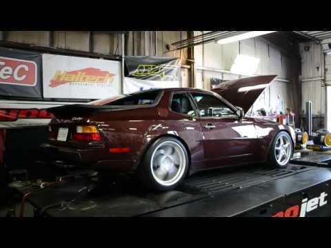 Porsche 944 Turbo dyno