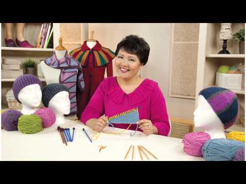 Knitted Tuck Stitch Tutorial & Highlights from Creative Knitting Winter 2013
