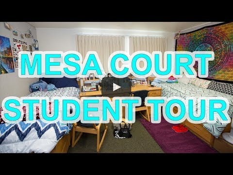 Mesa Court Student Tour - UC Irvine Housing