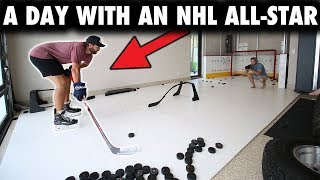 A day behind the scenes with an NHL All-Star