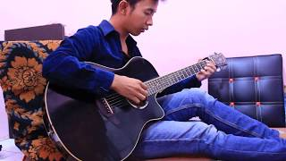 Fingerstyle Luna Haruna (春奈るな | Overfly Guitar ost anime Ost S....
