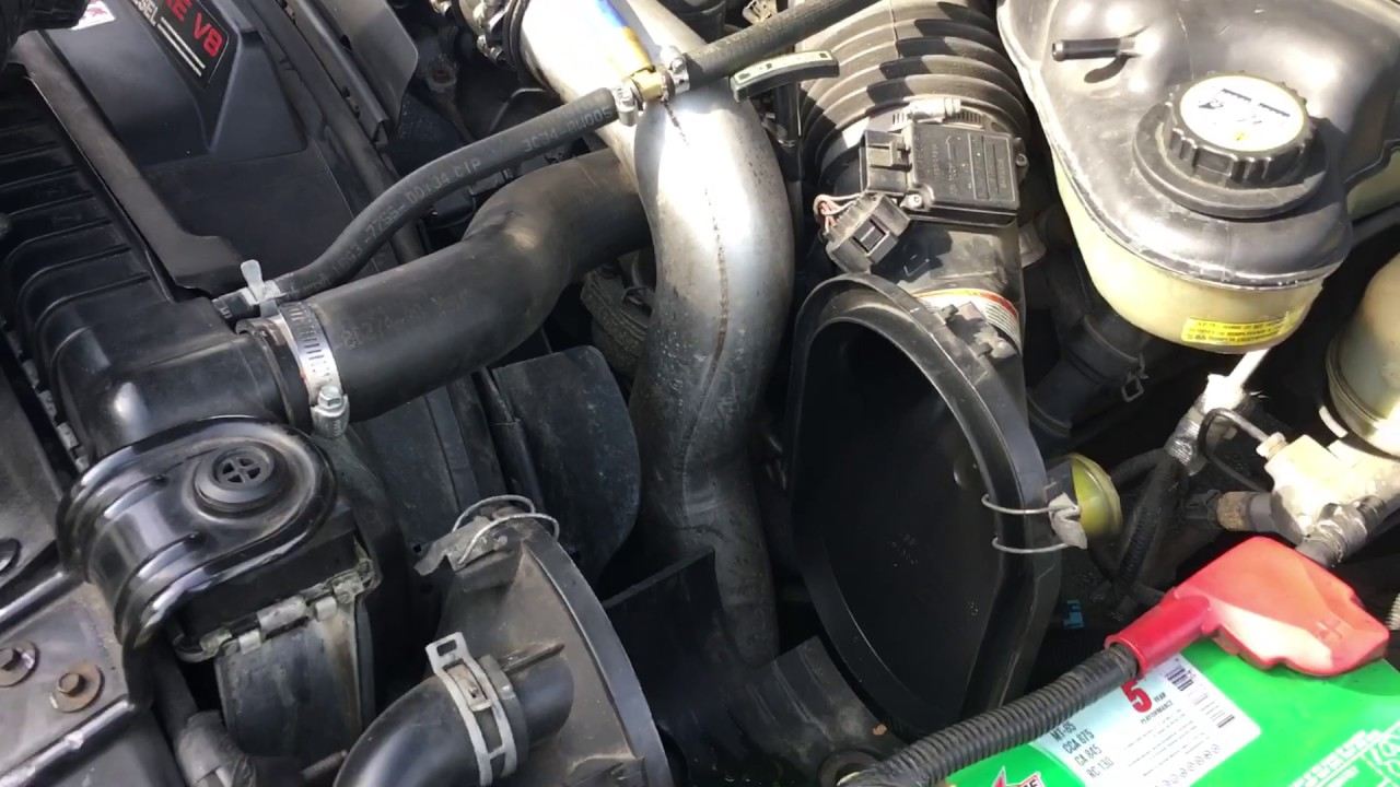 how to change air filter 2003 f 250 6 0 super duty diesel [ 1280 x 720 Pixel ]