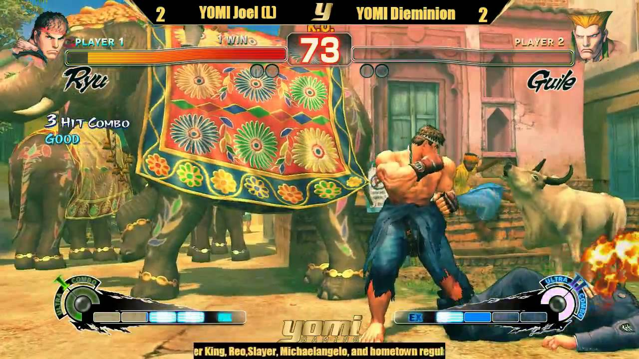 Grand Finals: YOMI Joel vs  YOMI Dieminion - Ultra Street Fighter 4