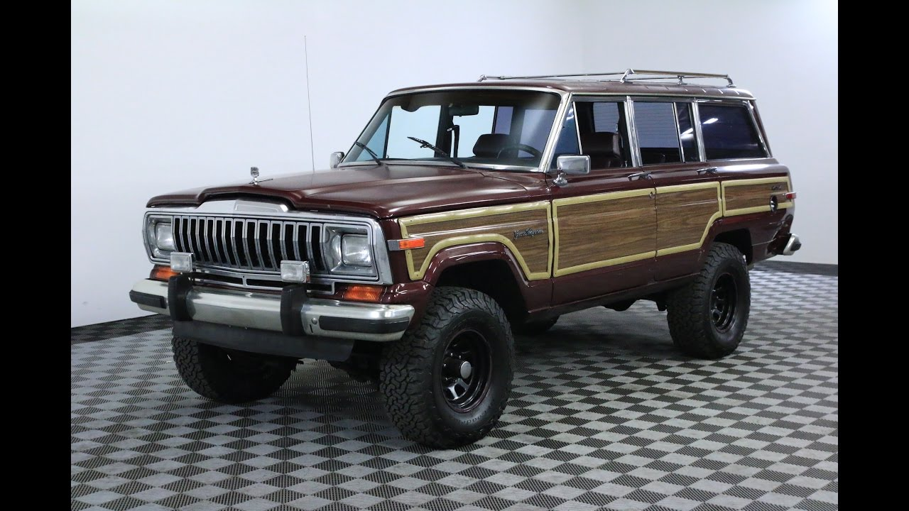 Jeep Grand Wagoneer >> 1987 Jeep Grand Wagoneer Youtube