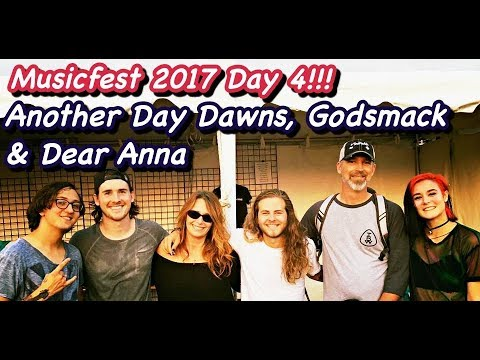 Musikfest Day 4 with ANOTHER DAY DAWNS, GODSMACK & DEAR ANNA!!   YouMeADV   Live Music   Vlog