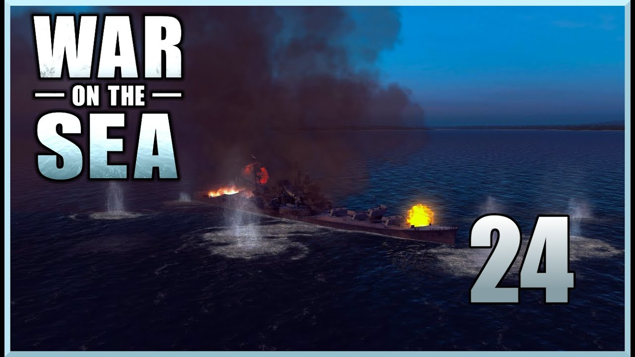 Download War on the Sea: Campaign : Ep 24 - Destroyer Clean Up