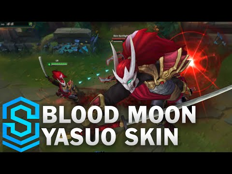 Blood Moon Yasuo Skin Spotlight - Pre-Release - League of Legends