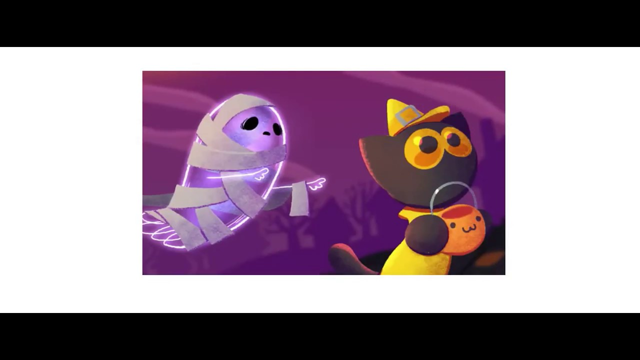 Halloween 2017 Google Doodle - YouTube