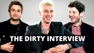 'THE DIRT' Iwan Rheon, Colson Baker (MGK) & Douglas Booth (CRAZY) Rock'n Roll Movie (2019) Netflix