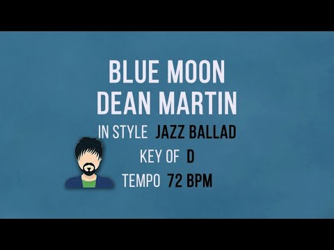 Blue Moon - Karaoke Backing Track