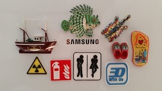Multicolor 3D Printing With a Single Extruder - Ideal Solution for Logos and Signs