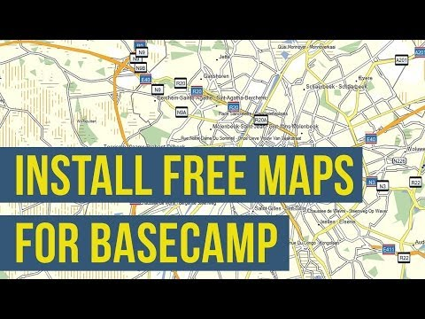 How To Install Free Maps on Garmin BaseCamp (OSM