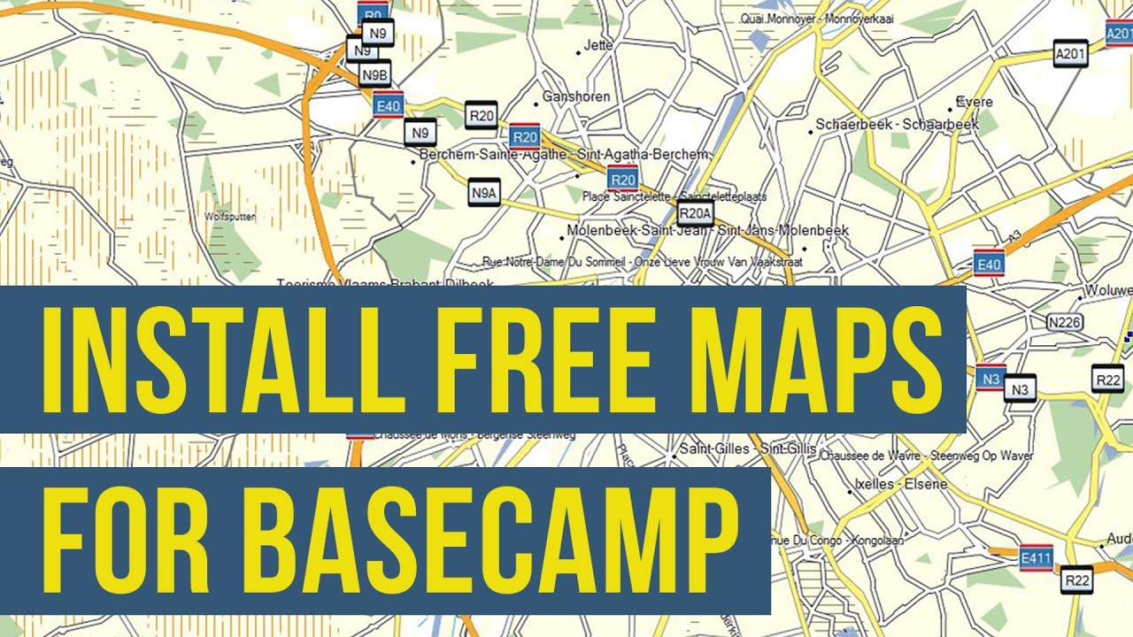 How To Install Free Maps On Garmin BaseCamp OSM Openstreetmap - Free garmin maps downloads