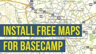 How To Install Free Maps on Garmin BaseCamp (OSM Openstreetmap) Free HD Video