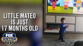 Lionel Messi's son learns english and it's really adorable | FOX SOCCER