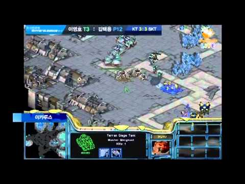 Starcraft Broodwar: Flash vs. Bisu Winners League 10-11 SKT1 vs. KT Rolster Set 7