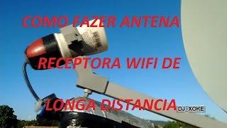 Antena Wifi Caseira de longa distancia