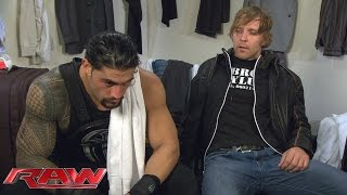 Dean Ambrose has some brotherly advice for Roman Reigns: Raw, October 26, 2015