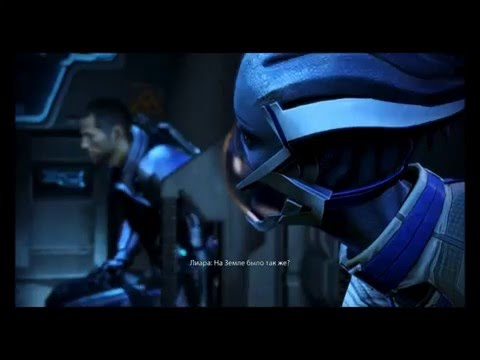 """Смотреть прохождение игры Mass Effect 3. Серия 4: """"Десант на луну Палавена."""""""