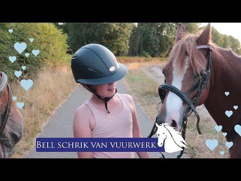 Tes valt van Bell tijdens buitenrit en Bell verliest haar hoofdstel * Hart voor Paarden *