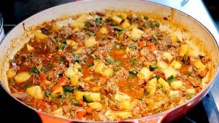 Birria de Res Guisado | Birria stew easy Mexican style recipe
